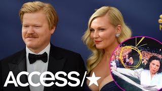 Kirsten Dunst & Jesse Plemons Accidentally Photobombed Alex Borstein's Emmy Win | Access