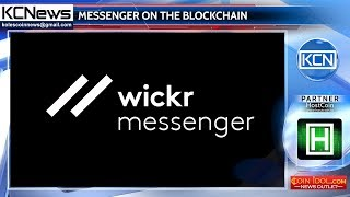 Wickr received a patent for the use blockchain for messaging