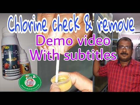 #chlorine_finder _chlorine _remover _demo_video