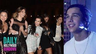 Kim Kardashian Bachelorette Party In Paris - Austin Mahone Drops Music Video