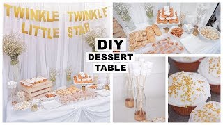 DIY EASY DESSERT TABLE | Marie Jay