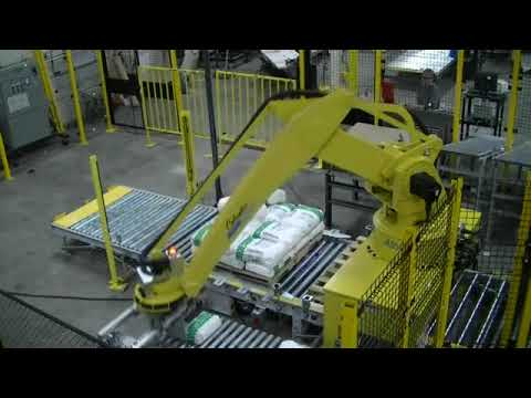 Columbia/Okura has a variety of unique applications for the robotic palletizing industry