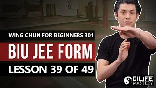 Wing Chun for Beginners 301 - Biu Jee Form (Lesson 39 of 49)