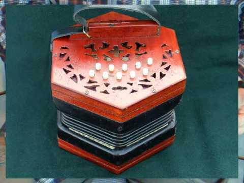 Lachenal Anglo Concertina Restored For Sale.avi