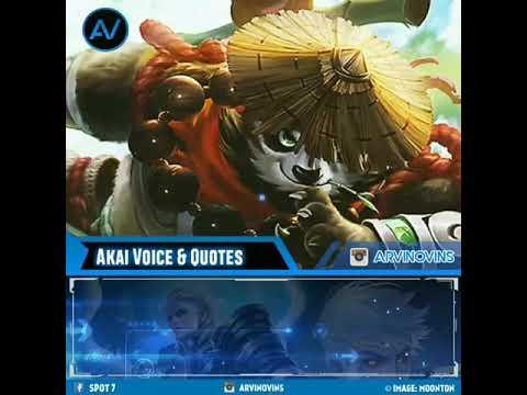 Akai VOICE u0026 QOUTES. - YouTube