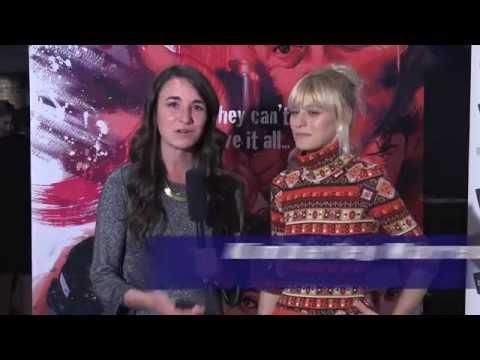 Brash Young Turks   KIMBERLEY MARREN Movie Premiere Interview