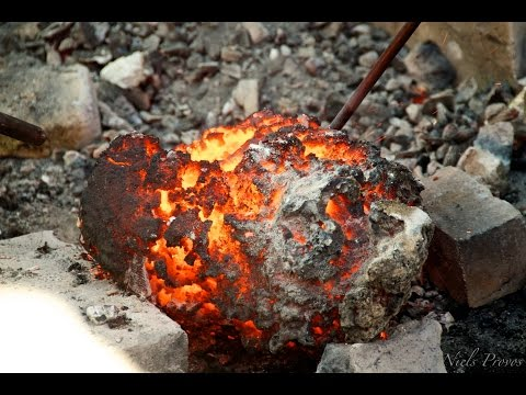 Making Viking-Age Bloomery Iron in a Bloomery Furnace
