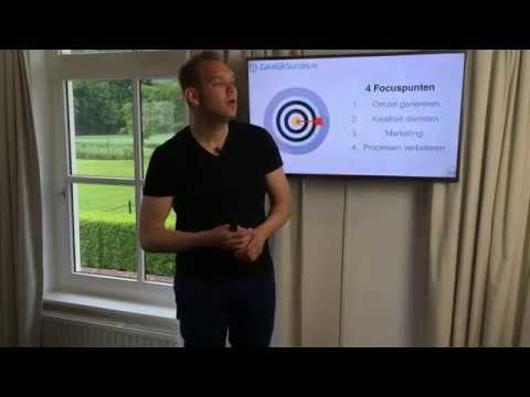 Focus hebben voor groei van je bedrijf