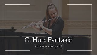 Georges Hue: Fantasie for Flute and Piano