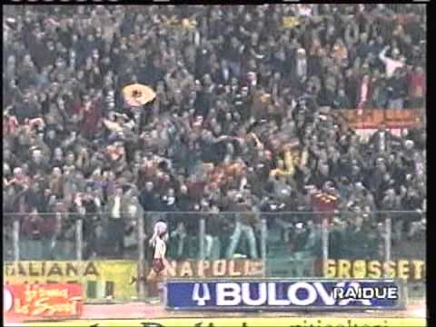 1996 March 19 AS Roma Italy 3 Slavia Prague Czech Republic 1 UEFA Cup