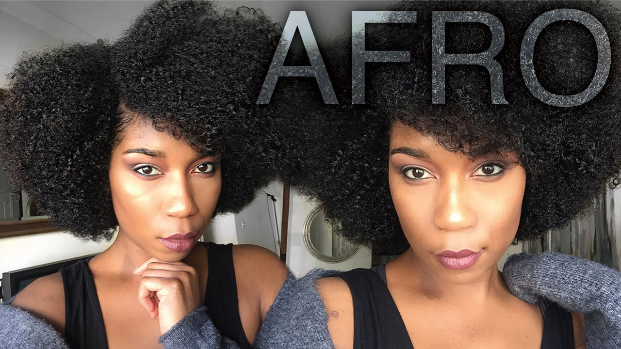 easy styles for natural hair fluffy soft afro hairstyle easy naptural85 1978 | maxresdefault