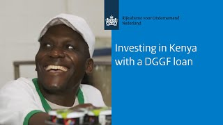 Investing in Kenya with a DGGF loan