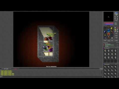 Tibia [7.24] Super gohan clearing Behemoth Quest