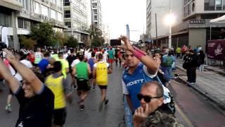 5ος Διεθνής Νυχτερινός Ημιμαραθώνιος Θεσσαλονίκης 2016 (21 χλμ) ΕΚΚΙΝΗΣΗ