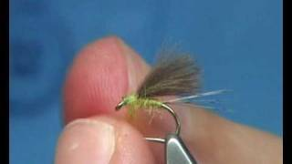Tying The F- Fly Cdc Snowshoe Dun By Davie Mcphail