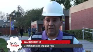 Impulsa Perú capacita gratuitamente a grupo de jóvenes como operarios de almacén