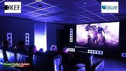 """""""REFERENCE"""" Home Cinema Part 3 Equipment used Speaker Layout KEF Ci Custom Installation"""