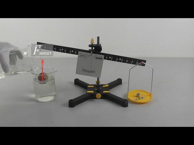 7 клас. Фізика. Відеоексперименти з визначення та унаочнення дії виштовхувальної сили в рідинах,газах
