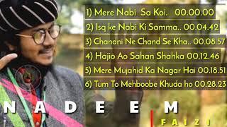 Nadeem Raza Faizi Most Wants Six Naat || Nadeem Raza Faizi #LatestNaatNadeemRazaFaizi