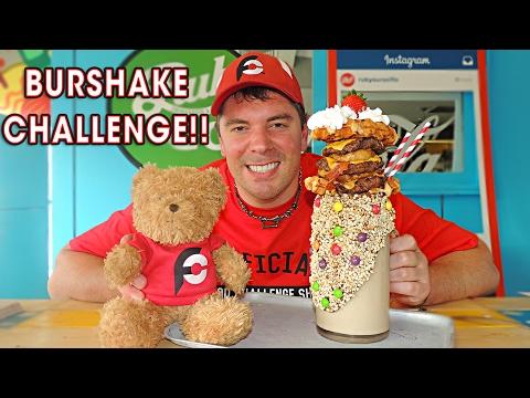 BURSHAKE CHALLENGE w/ Dr Pepper, Milk, and BEER!!