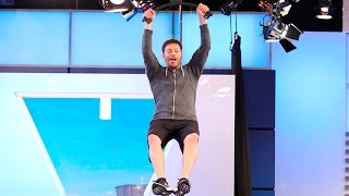 Harry Tackles the American Ninja Warrior Obstacle Course!