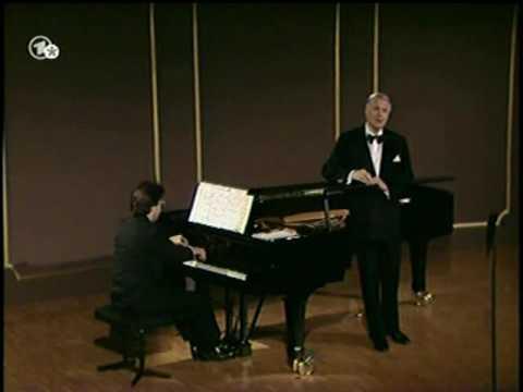 Schumann Lieder   Dietrich Fischer Dieskau, Harmut Höll Baden Baden, 1988
