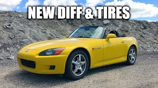 honda s2000 review upgraded differential and tires