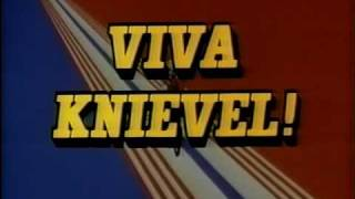 VIVA KNIEVEL! (1977) Opening Credits with ORIGINAL studio logo and FULL song Evel