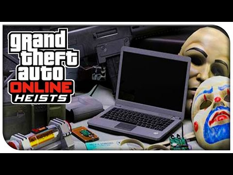 GTA 5 Online HEISTS INFO! - NEW Team Gear Packs, Heist Vehicle Images & More! (Squadcast #48)