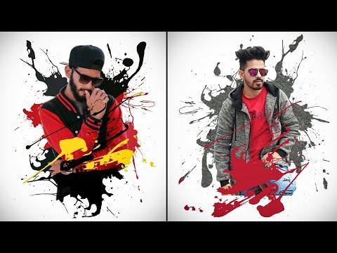 PicsArt Ink Splash Effect | PicsArt Editing Tutorial | PicsArt Photo Editing Tutorial