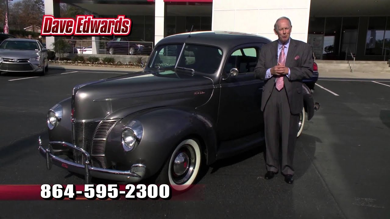 1940 Ford Coupe Dave Edwards Toyota Spartanburg SC Upstate