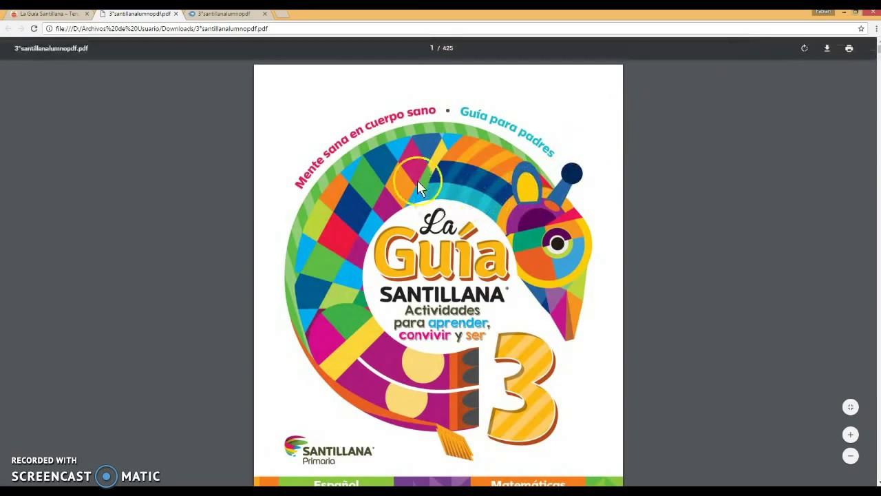 Descargar Libro Santillana - YouTube @tataya.com.mx 2020