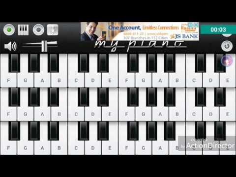 Aye Watan Pyare watan (ustad amanat Ali khan) Piano