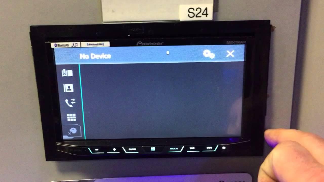 Bluetooth Memory Full on Pioneer AVH Decks