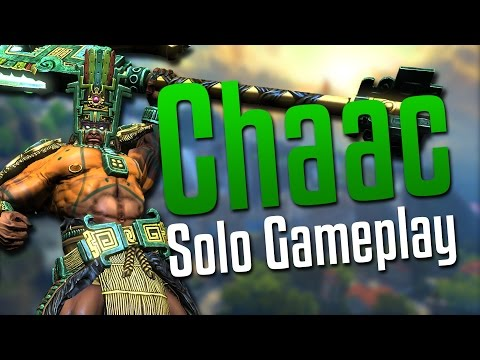 Smite: IT'S RAINING AGAIN!- Chaac Solo Gameplay