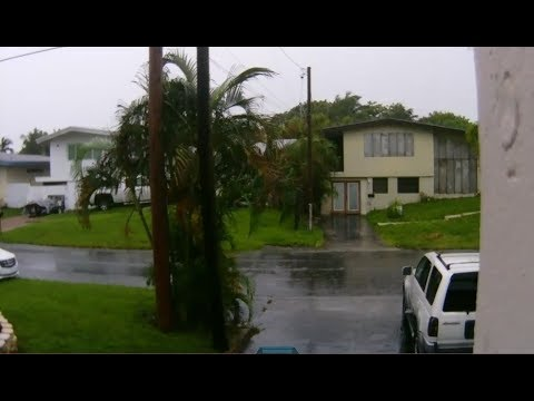 Hurricane Irma Live Fort Lauderdale, Florida
