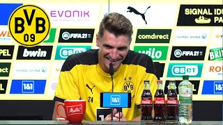 Press conference with Thomas Meunier