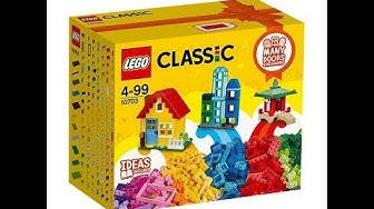 Lego classic 10692 & unboxing review
