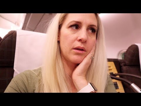 Morning sickness on a PLANE
