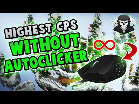 Download Youtube: HIGHEST CPS WITHOUT AUTOCLICKER! ( Hypixel Skywars )