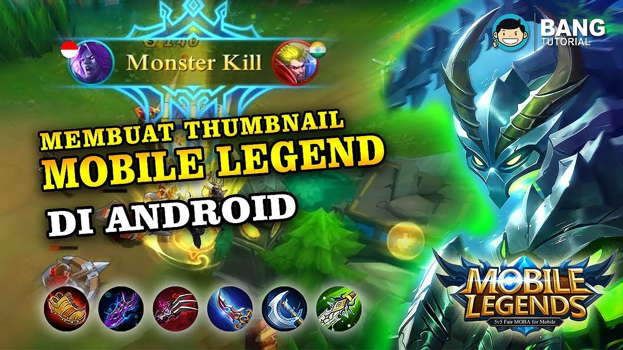 how to make thumbnail for mobile legends games | pixellab tutorial #2