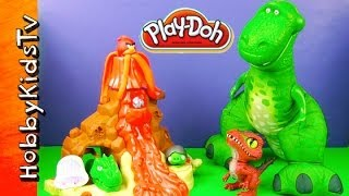 Play-Doh Volcano Adventure!
