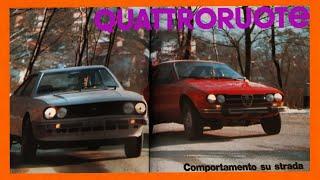 02/1980: ALFETTA GTV vs. LANCIA BETA COUPÉ 2000 (QUATTRORUOTE, prova su strada)
