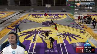 HOF Danger To The Nations take anger out on FlightReacts After Getting Coal For Christmas NBA 2K21!