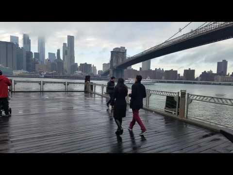 Dumbo Brooklyn Bridge Park Surprise Wedding Proposal New York City