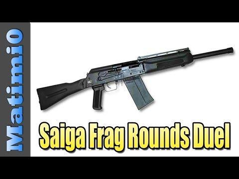 Saiga Frag Rounds Duel - Filthy Camper - Battlefield 4