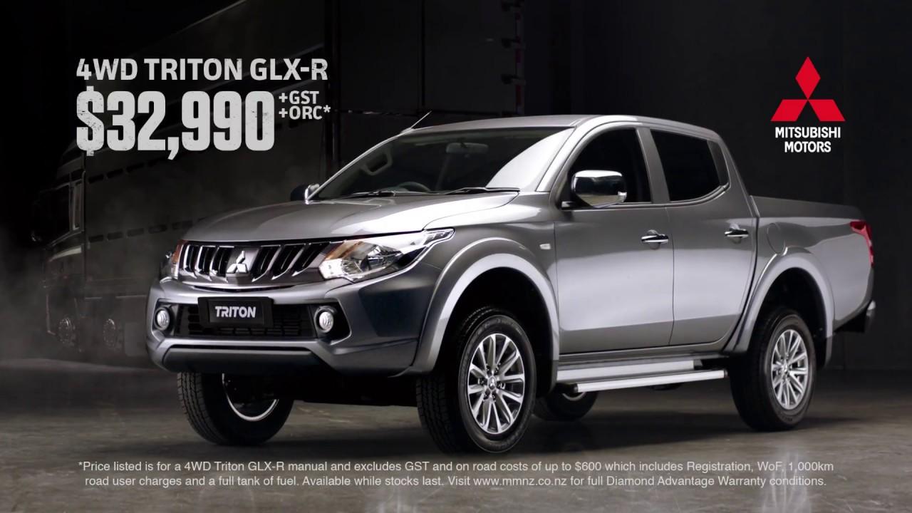 Mitsubishi glx r triton