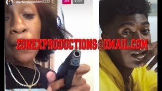 NBA Youngboy Mom GOES CRAZY hearin nba yb shot by Fredo bang SHOWS STRAPPED!CRAZY!