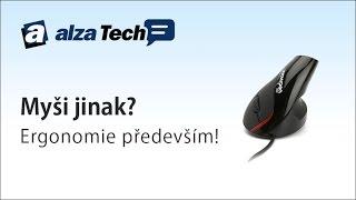 Myši jinak: Jaké jsou ergonomické myši? - AlzaTech #156