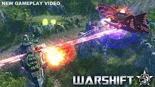 WARSHIFT Gameplay Video Skirmish Match vs AI [Let's Play Video]